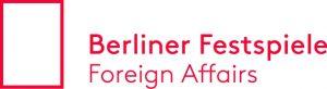 Logo Foreign Affairs / Berliner Festspiele