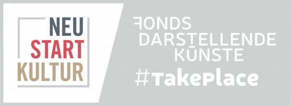 Logo Neustart Kultur Take Place