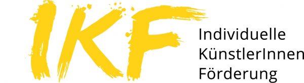Logo IKF - Individuelle KünstlerInnnen Förderung