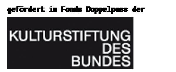 Logo Kulturstiftung des Bundes - Fonds Doppelpass