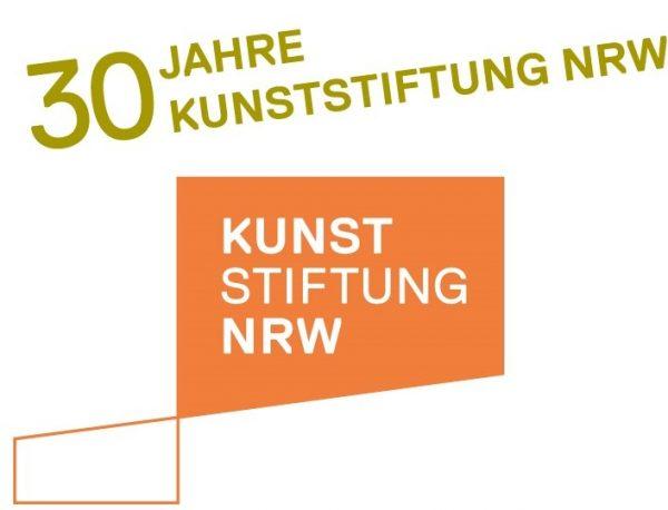 Logo Kunststiftung NRW Jubiläum