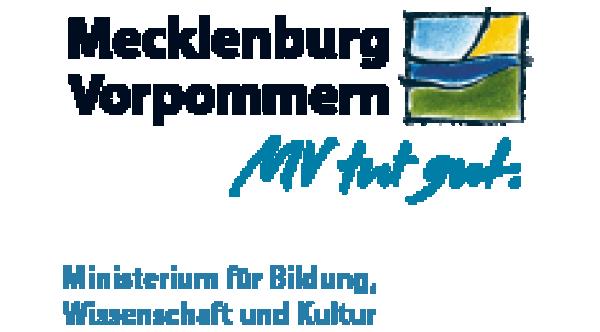 Logo Ministerium für Bildung, Wissenschaft und Kultur des Landes Mecklenburg-Vorpommern