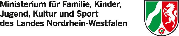 Logo Ministerium für Familie, Kinder, Jugend, Kultur und Sport des Landes Nordrhein-Westfalen